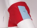 Red/Aquarel blue with pocket   SHL € 19,95